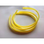 Основа для обруча желтая (0,8 см, округлая)
