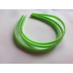 Основа для обруча зеленая (0,8 см, округлая)