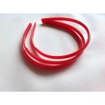 Основа для обруча красная (0,8 см, округлая)