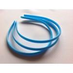 Основа для обруча голубая (0,8 см, округлая)