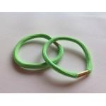 Резинка для волос зеленая, d=5,5 см, шт