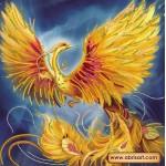 Набор для вышивки бисером «Жар-птица»