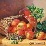 Набор для вышивки бисером «Корзина с яблоками»