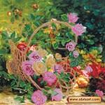 Набор для вышивки бисером «Садовые розы»
