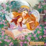 Набор для вышивки бисером «Музыка ангелов»