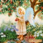 Схема для вышивки бисером «Райские яблоки»