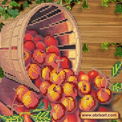 Схема для вышивки бисером «Яблочный Спас»