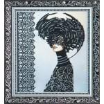 Набор с бисером  для вышивки бисером «Моргана»