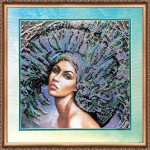Набор с бисером  для вышивки бисером «Стихия воздуха»