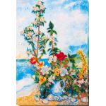 Набор для вышивки бисером «Цветы на берегу»