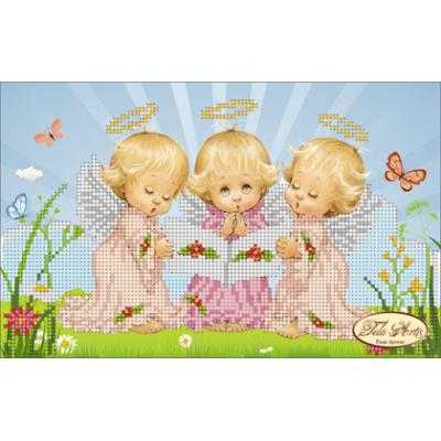 Схема для вышивки бисером «Почти идеальный (девочка)»