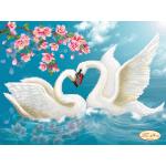 Схема для вышивки бисером «Вечная любовь»