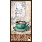 Схема для вышивки бисером «Кофе в Париже - 2»