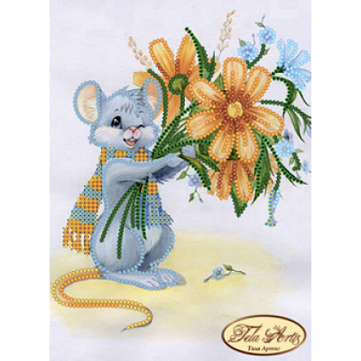 Схема для вышивки бисером «Маленький романтик»