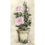 """Схема для вышивки бисером  """"Розовые розы"""""""