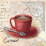 Схема для вышивки бисером «Кофе в Париже - 3»