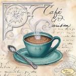 Схема для вышивки бисером «Кофе в Париже - 4»