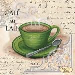 Схема для вышивки бисером «Кофе в Париже - 5»