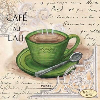Набор для вышивки бисером «Кофе в Париже - 5»