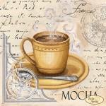 Схема для вышивки бисером «Кофе в Париже - 6»