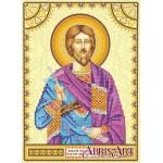 Схема для вышивки иконы бисером на холсте «Святой Платон»