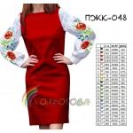 Платье женское комбинированное, PGK-048