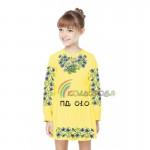 Платье для девочки с длинным рукавом PDD-10