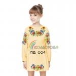 Платье для девочки с длинным рукавом PDD-4