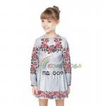 Платье для девочки с длинным рукавом PDD-9