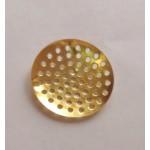 Основа для броши Сито, золотист., 25 мм