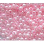 Бисер №4  37173  (перламутровый, светло-розовый), 10 г