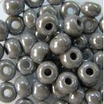 Бисер № 8   48020 (перламутровый, серебристо - серый), 10 г
