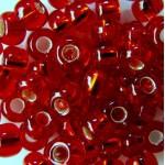Бисер № 8   97070 (блестящий, красный), 10 г