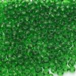 Бисер 50120 / 116 (прозрачный, зеленый темный)