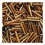"""Стеклярус 5"""" 954 / 17110 (блестящий, коричневый)"""