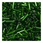"""Стеклярус 5"""" 958 / 57120 (блестящий, зеленый)"""