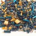 Микс Preciosa, Радужно - синий, 25 грамм