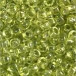 Бисер 01152 (прозрачный, оливковый)