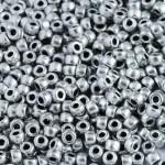 Бисер 01700 / 587 (металлизированный, серебристый)