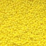Бисер 84130 / 54600 (керамический, радужный, желтый)