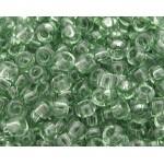 Бисер 01163 (прозрачный, серо - зеленый)