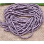Граненые бусины, лиловые, 2 мм, 10 шт