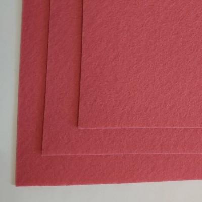 Корейский жесткий фетр 1,2 мм (20*30 см), розовый