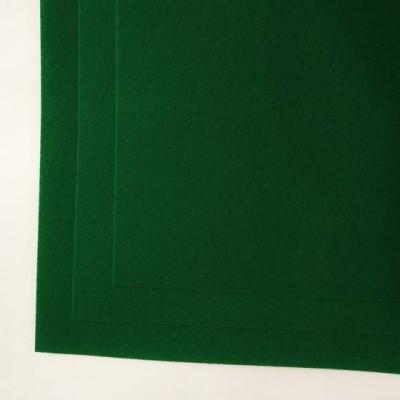 Корейский жесткий фетр 1,2 мм (20*30 см), зеленый