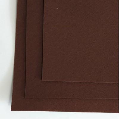 Корейский жесткий фетр 1,2 мм (20*30 см), коричневый