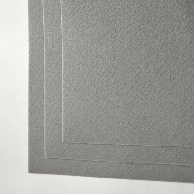 Корейский жесткий фетр 1,2 мм (20*30 см), светло - серый