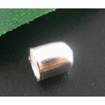 Наконечник - колпачок 6x5mm, серебристый, шт