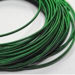 Канитель  жесткая, зеленый, 1,2 мм (50см)
