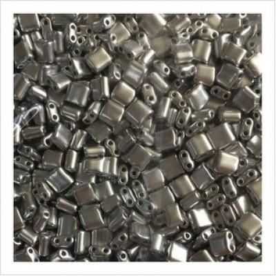 Бисер Karo  01700  (металлизированный, серебристый), 10 г