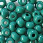 Бисер №8  53240 (натуральный, бирюзово-зеленый), 10 г
